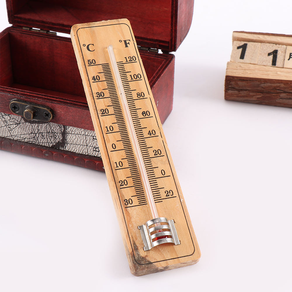 NEW PLASTIC THERMOMETER STICK TO WALL HOME OFFICE GARAGE INTERNAL//EXTERNAL USE