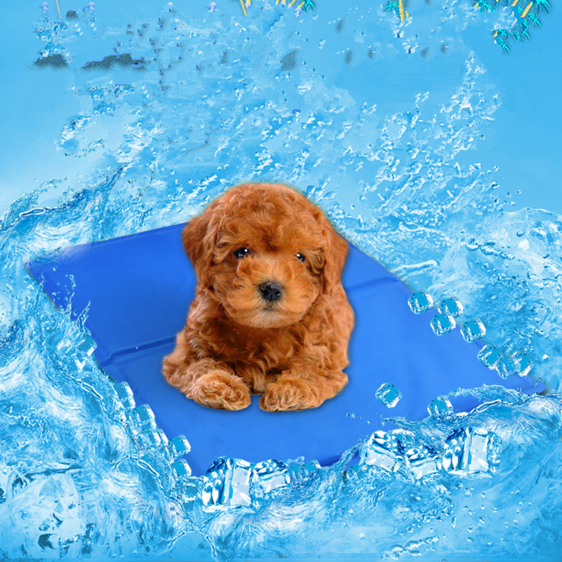 Summer Pet Cooling Mat Hydrophilic Rubber Ice Pad Dog ...