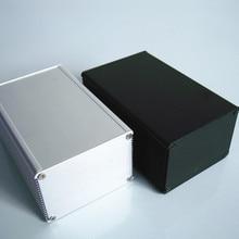 Aluminum Enclosure 66*46*100mm DIY for PCB Power Shell Electronics Project Box NEW