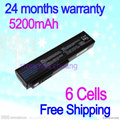JIGU n53s Free shipping Laptop battery For Asus A32-M50 L072051 G51 G51j G51v  N61 N61-A1 N61J n61vg