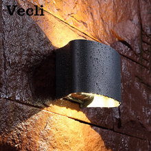 LED outdoor waterproof wall lighting outside wall lamp terrace balcony wall  buitenlamp  residential bra landscape lighting fashion outside decorative wall light waterproof buitenlamp residential villa outdoor lighting villa corridor balcony wall lamp