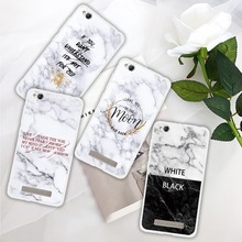 For Redmi 4A 4X 5A Plus 6A Pro Cases Marble Scrub Translucent Soft TPU Coque Shell Note 3 6 7 Cover Capa