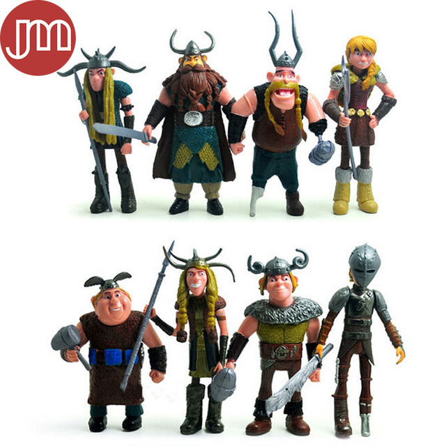 New 8 pcs how to train your dragon 2 astrid gobber fishlegs action new 8 pcs how to train your dragon 2 astrid gobber fishlegs action figures kids toys ccuart Choice Image