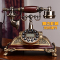 Ansel moda teléfono antiguo teléfono antiguo hogar de la vendimia americana equipada/Identificador de llamadas Manos Libres/luz de fondo