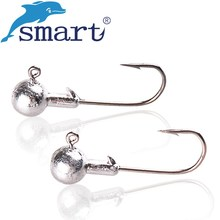 20Pcs Lead Head Fishing Hook 9Sizes Shark Fish Hook Jig Bait Hooks For Soft Lure Fishing Tackle Pesca Accessories Anzol