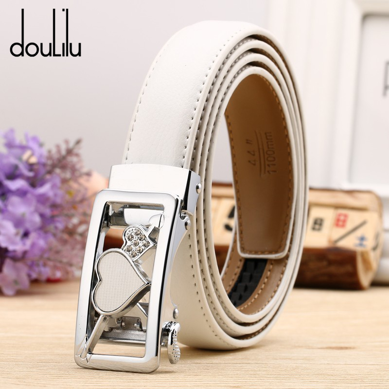 Adult Women Dress Belt Cow Genuine Leather Female Casual Pin Buckle Boho Waistband Luxury Brand High Quality Fashion 2018
