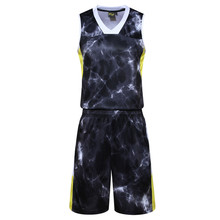 2017 new men's women basketball shirt suit uniforms breathable basketball sweatshirt sports shorts breathable quick-drying sof
