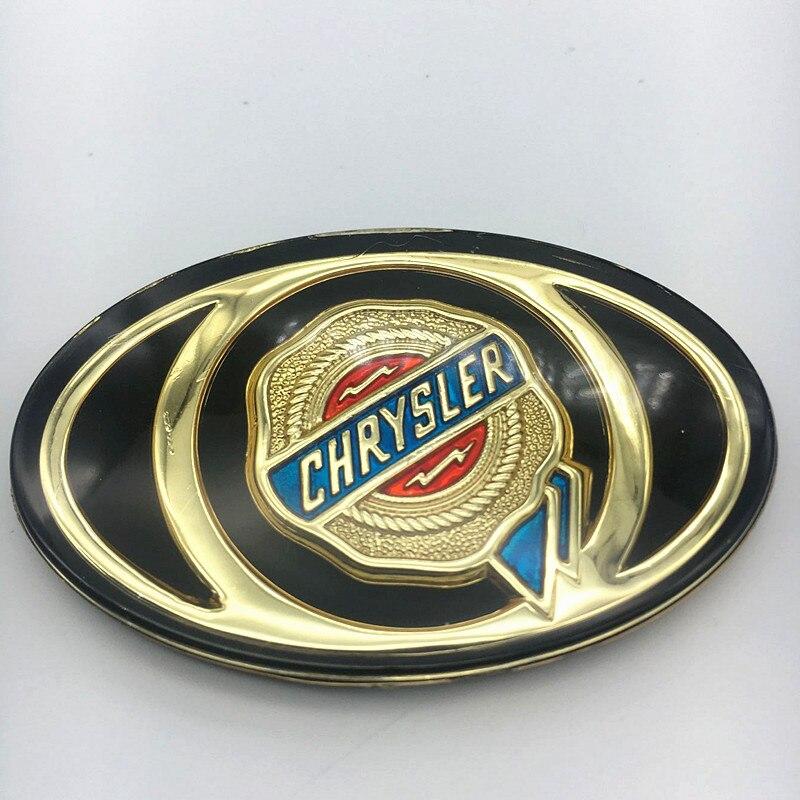 1 Stks Auto Logo Voor Chrysler 300c Mopar Grille Grill Motorkap