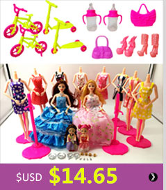 ộ ộ ༽12 Pcs   Handmade Gaun Pesta 5 sets Pakaian Fashion gaya ... af565e3fa0