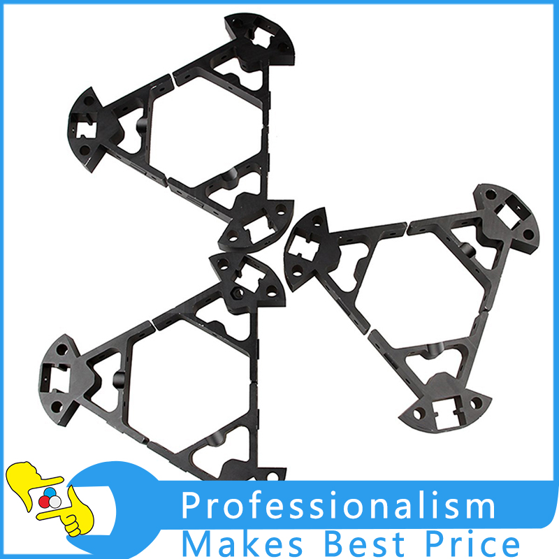 9Pcs Kossel K800 Mini 2020 3D Printer Aluminum Frame RepRap Rostock Delta With Best Price diy kit lcd 2004 display kossel k800 reprap rostock delta kossel mini 3d printer