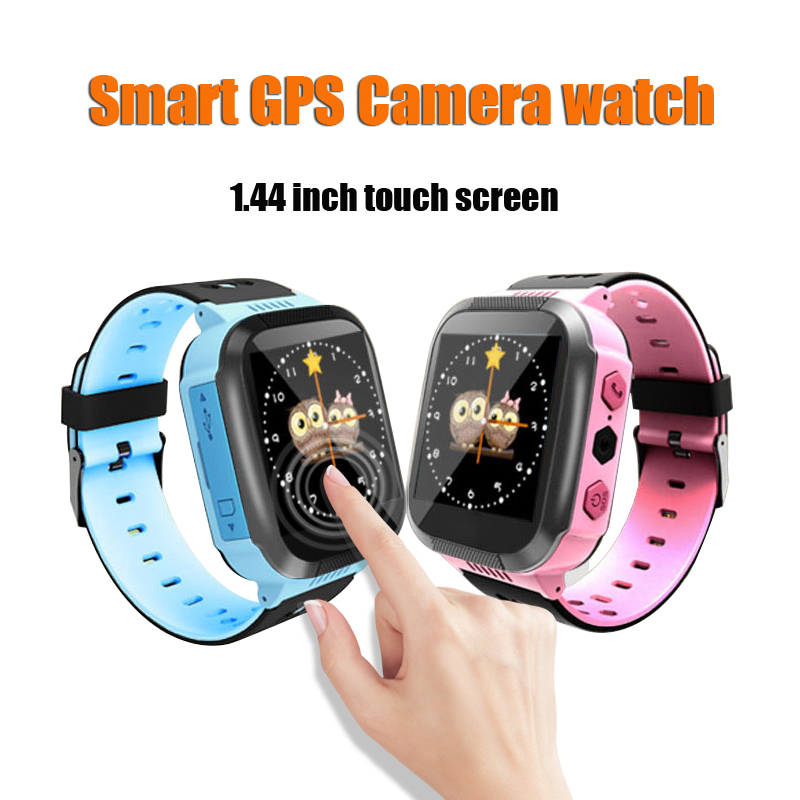 Q528 Y21 Touch Screen Kid GPS Smart Watch With Camera Flashlight Baby Watch SOS Call Location Tracker for Kid Safe pk Q50 q90