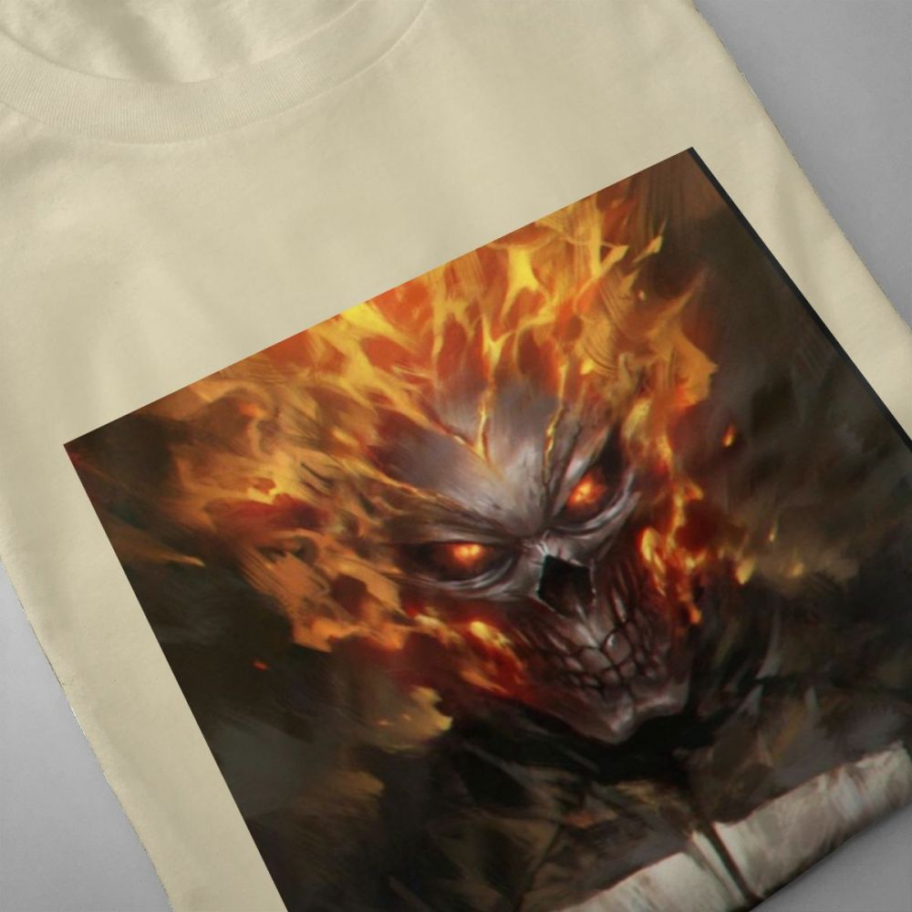 Avengers Ghost Rider Homme Tee Shirt Men 39 s Fashion For Boy Casual 3D Print Homme Tee Shirt For Boy in T Shirts from Men 39 s Clothing