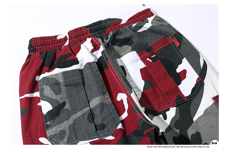 Calças de camuflagem dos homens camo calças