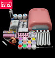 EM-92 Hot Sale nails gel Professional 36w  Curing UV Dryer Lamp 12 Colours Nail Art Manicure Tools Kit For Beauty Nails