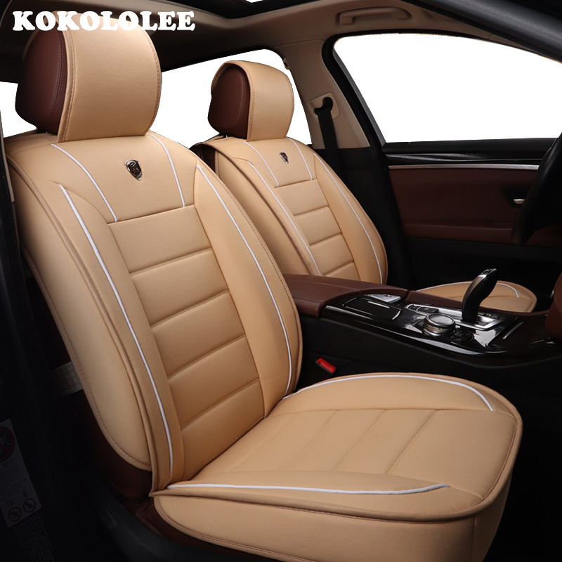 kokololee Special font b Car b font Seat Covers For Mitsubishi All Models ASX Lancer SPORT