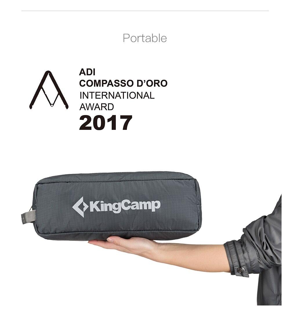 KingCamp-Ultralight-Single-Folding-Bed-Weight-Capacity-120KG-Camping-Cot-Aviation-Aluminum-Portable-Hiking-Travel-Comfortable -3