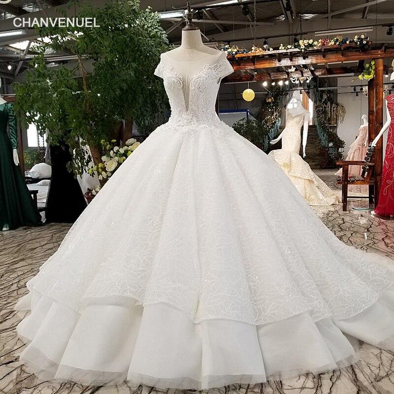 Aliexpress.com : Buy LS01480 2018 Luxury Ball Gown Wedding