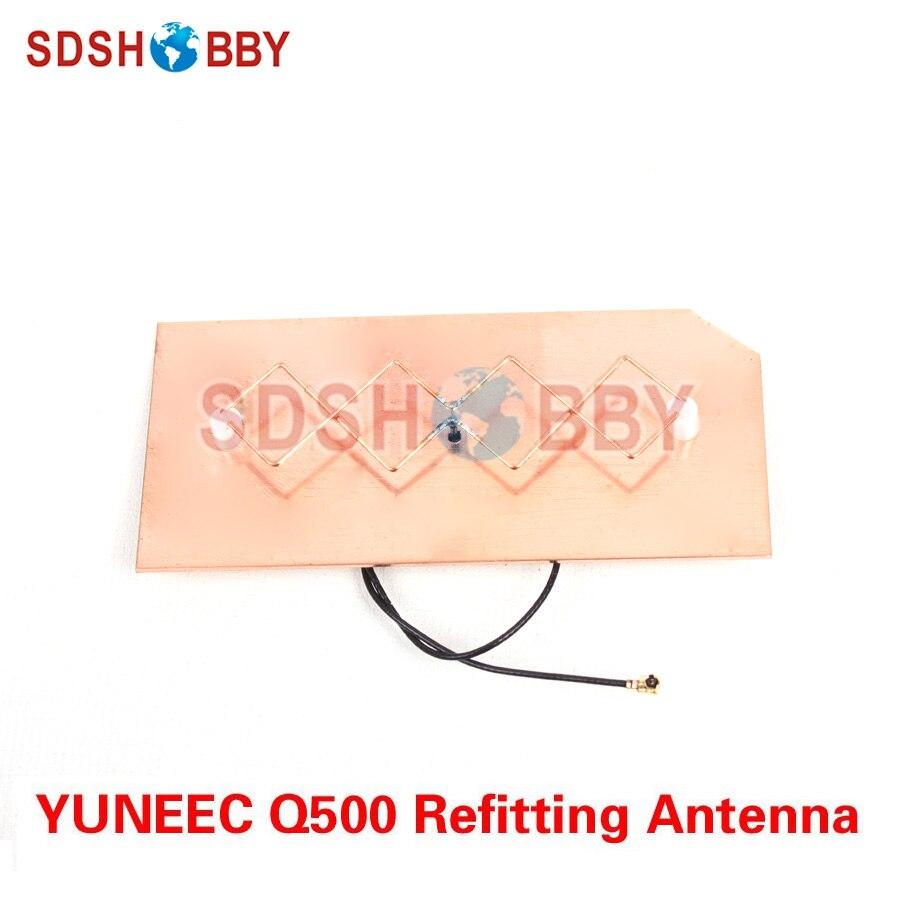 YUNEEC Q500 Refitting Antenna Extended Range DIY 5.8G Panel Antenna for YUNEEC Q500 Remote Controller 4pcs yuneec q500 q500m q500 m q5004k q500 k typhoon propeller blades cw