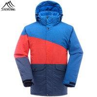 SAENSHING Winter Ski Jacket Men Snowboard Coats Waterproof Thermal Snowboard Jackets Outdoor Ski Skiing and Snowboarding Wear