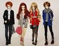 Unisex Simple Cardigan Coat Multicolors for BJD 1/6 YOSD, 1/4, 1/3 SD16,SD17, Uncle Luts DOD AS DZ Dolls clothes CWB18
