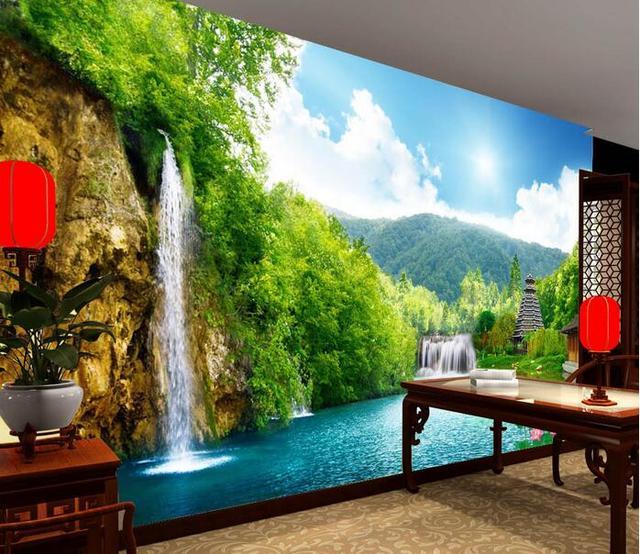 3d Wallpaper Custom Mural Non Woven Wall Sticker 3 D