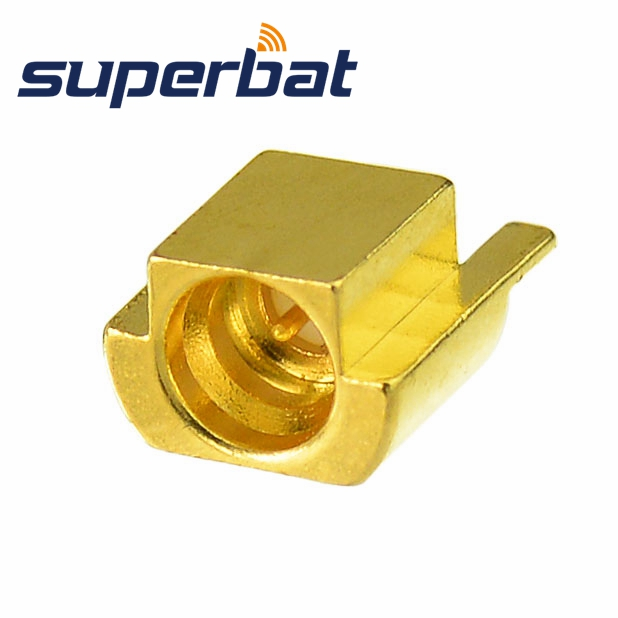 Superbat SMP Jack Female Straight Connector For Antenna Cables