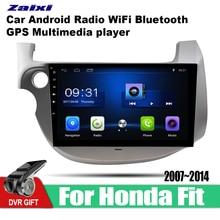 цена на ZaiXi 10.1 Inch 2Din Android Car Radio Wifi Autoradio HD 1024*600 Tochscreen GPS Multimedia Player For Honda Fit 2007~2014