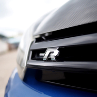For volkswagen VW JETTA MAGOTAN CC GOLF POLO GOLF 6 passat B4 B6 LavidaMetal 3D Car Auto Rline Stickers Emblem R Line Badges