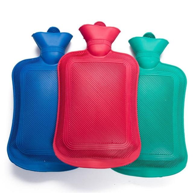 Hot Water Bottle Thick High Density Rubber Bag Hand Warming Bottles Winter