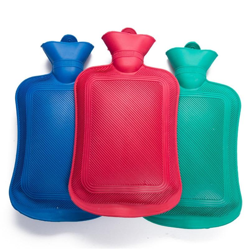 Hot Water Bottle Thick High Density Rubber Hot Water Bag Hand Warming Water Bottles Wint ...