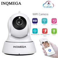 INQMEGA 720P Cloud Security IP Camera WiFi Home Security CCTV Camera Night Vision Pan Tilt Two