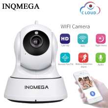 INQMEGA 720P Cloud Security IP Camera WiFi Home Security CCTV Camera  Night Vision Pan Tilt Two Way Audio Baby Monitor