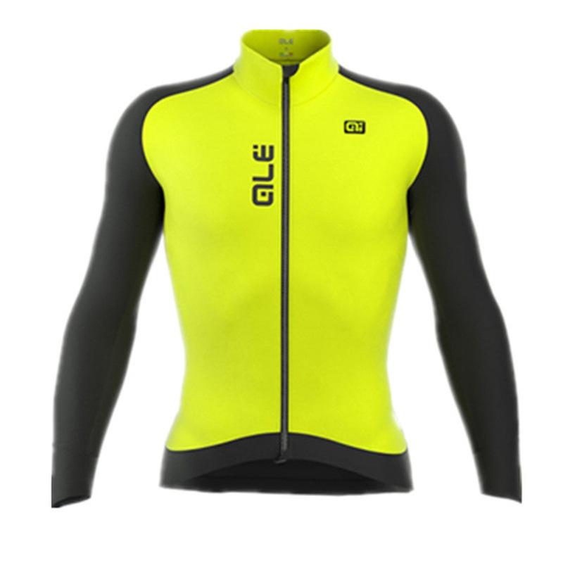 2018 quick-drying Jersey long-sleeved spring mens shirt bicycle clothing racing jacket bike riding clothing breathable