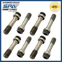 Connecting rod bolt con rod bolt steel 4135 3/8 ARP 2000 similar H bean I bean x bean forged rods 205.000 PSI 8pcs Set