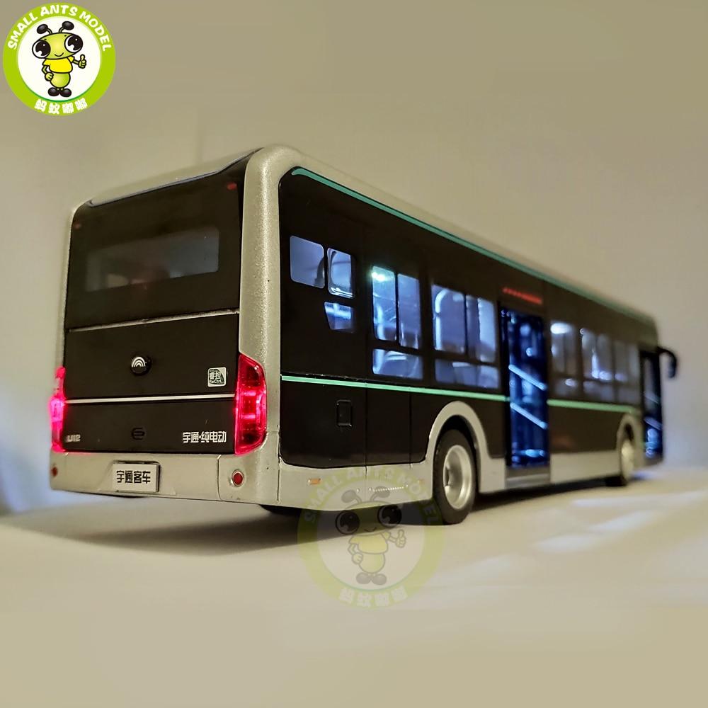 1/42 YuTong U12 شاحنة المدينة دييكاست حافلة سيارة نموذج الفتيان Gilrs الهدايا لعب الاطفال-في سيارات لعبة ومجسمات معدنية من الألعاب والهوايات على  مجموعة 2