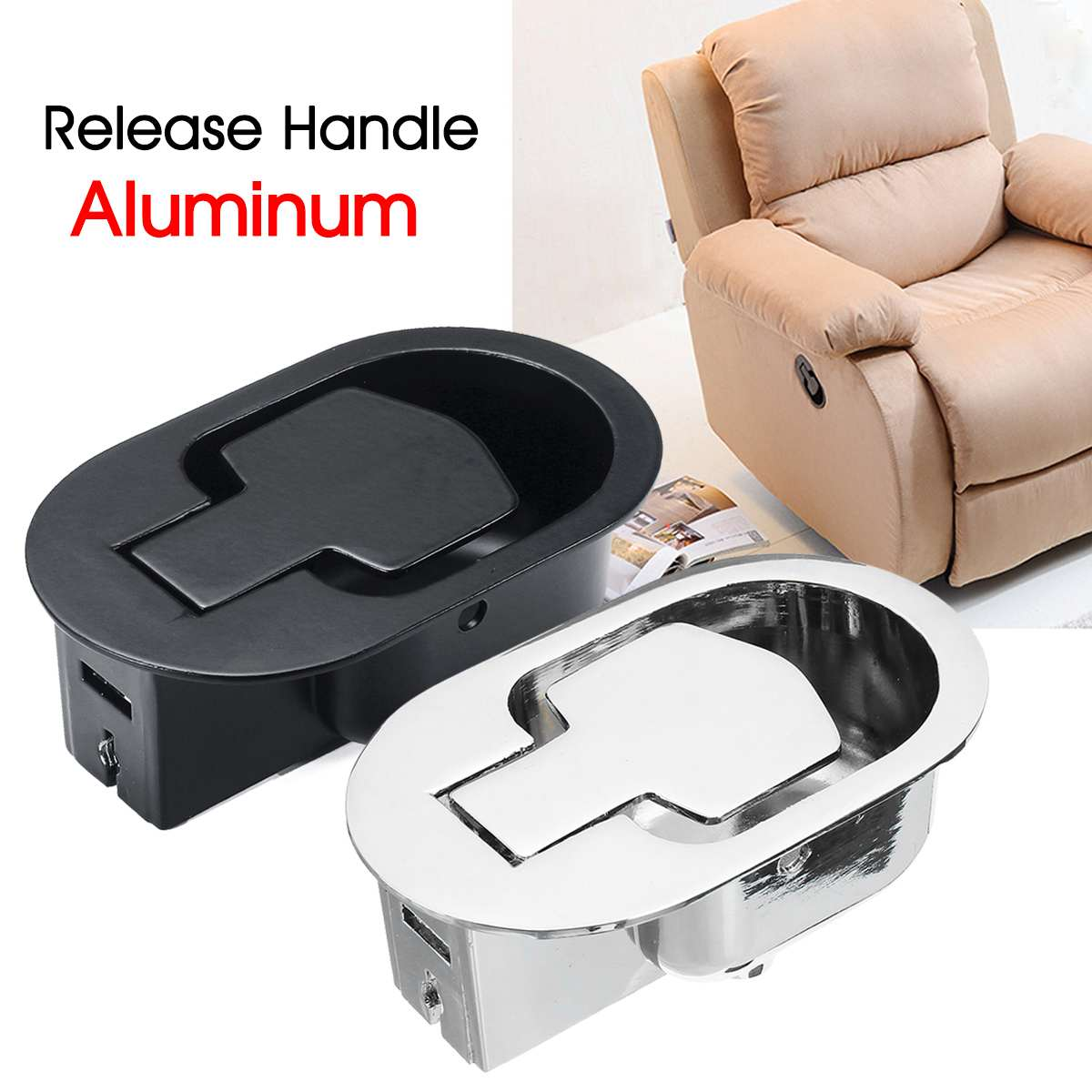 Sofa Handle Recliner Chair Couch Release Lever Replacement Rectangle For Recliner Sofa Couch Chair