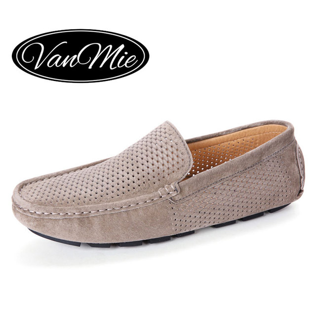 Vanmie Brand Mens Shoes Casual Men Loafers 2017 Summer