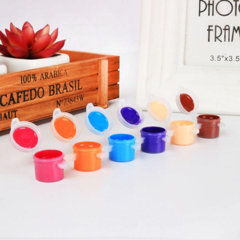 Ehrlich Neue Acryl Farben Wasser Pinsel Pigment Set Für Kleidung Textil Stoff Hand Gemalt Wandputz Malerei Zeichnung Für Kinder