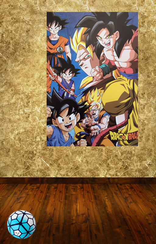 2016 Real Stickers Hd Pvc 3d Wall Art The Latest Dragonball Images ...