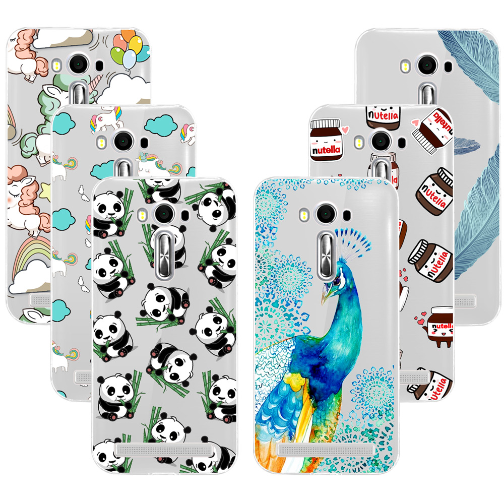 Fashion Soft TPU Case For ASUS ZenFone 2 Laser ZE500KL 5.0 Transparent Soft  Silicone Cover Phone Cases For Asus Zenfone2 Laser 0fca6f5b10fa