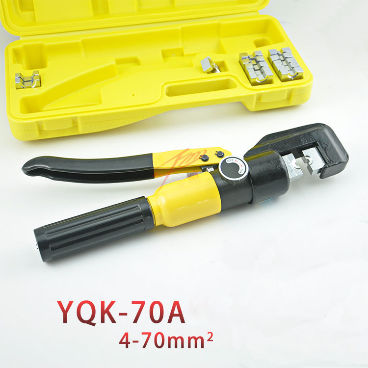YQK-70 120 240 300 A Hydraulic Crimping Tool, Press Plier, Cold welding pliers, Cold-press terminal press clamp