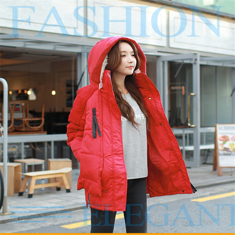 Fashion Female Long Section Padded Winter Jacket Slim New  Tooling Big Yards Thick Hooded Cotton Jacket women's parkaTT115 2015the new women s clothing han edition cotton padded clothes coat long big yards more loose tooling cotton padded jacket