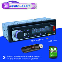 Wireless Receiver FM Radio Car MP3 SD Card AUX Adapter Bluetooth Decoders USB Hands free Remote Control Stereo
