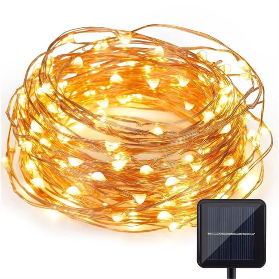 Solar LED Garden Light Outdoor waterproof 10m 20m Copper Wire Fairy String Light Lawn Lamp for Garden Xmas Decoration LightingSolar LED Garden Light Outdoor waterproof 10m 20m Copper Wire Fairy String Light Lawn Lamp for Garden Xmas Decoration Lighting