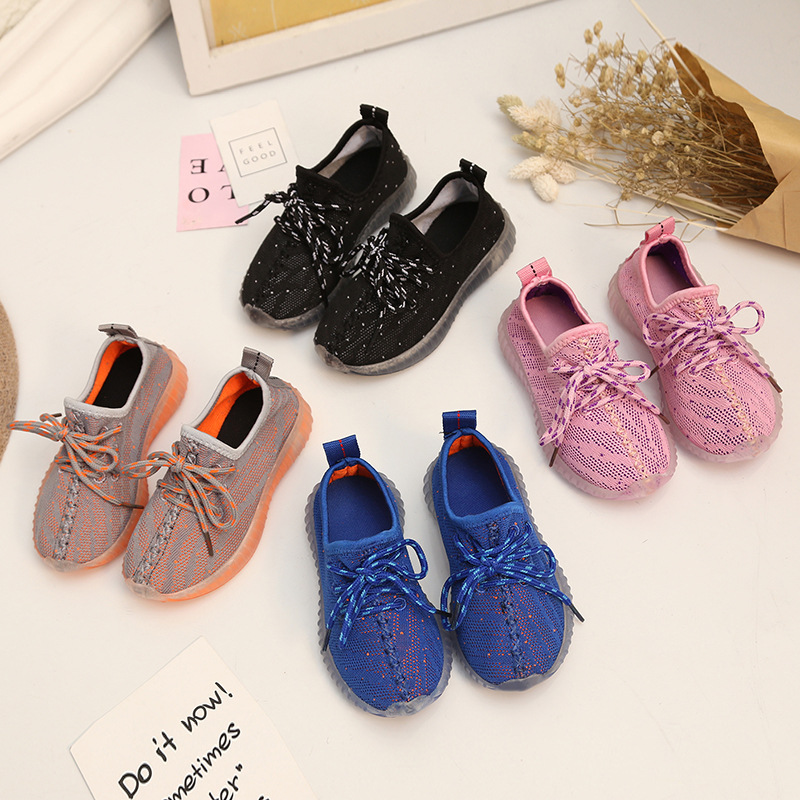 New Spring Summer Childrens Boys and Girls Breathable Lightweight Sports Fashion Shoes ...