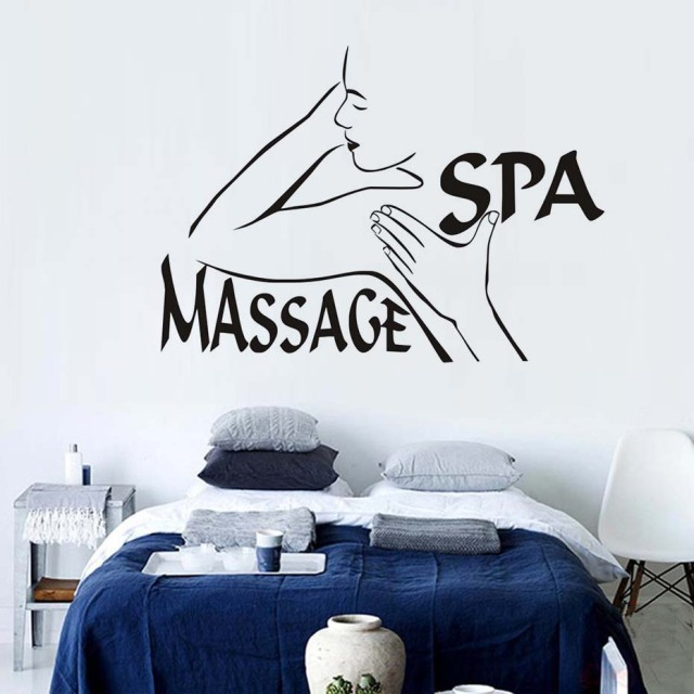 Quotes Mage Spa Beauty Salon Wall Decor Vinyl Adhesive S Woman Decal Sticker Removable Modern Art