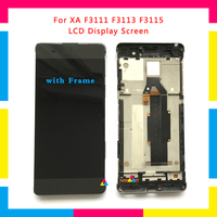 5pcs LCD Display Screen With Touch Screen Digitizer Assembly For Sony Xperia XA F3111 F3113 F3115 Replacement