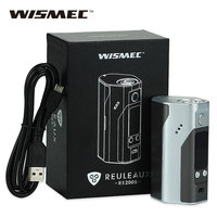100 Original Wismec Reuleaux RX200S TC 200W OLED Screen Box Mod With Upgradeable Firmware Reuleaux RX200S