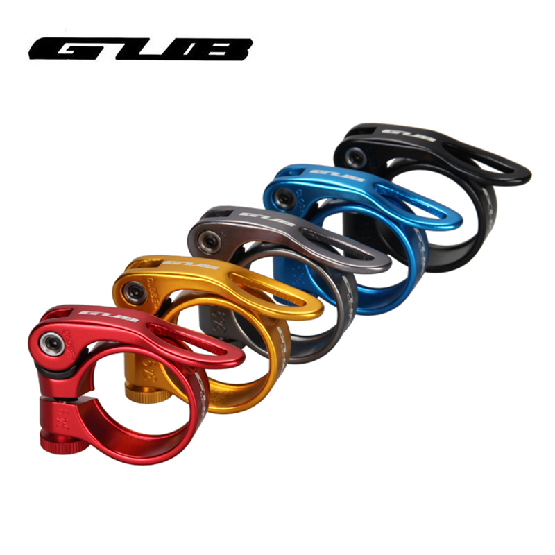 31.8//34.9mm Road Bike MTB Bicycle Seat Post Clamp Quick Release Seatpost Clamp