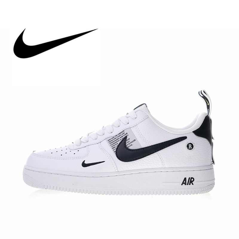 Zapatillas Nike Air Force 1 07 Low Blanco Negro (AJ7747